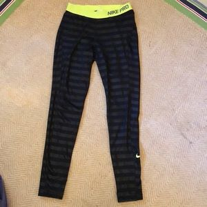 Nike Pro running tights. In good used condition